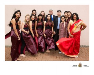 Rhythm Performing Arts team performed for Canada's Prime Minister: The Right Honourable Stephen Harper.